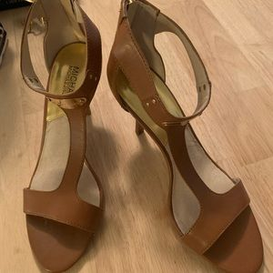 Michael Kors Tan Open Heels